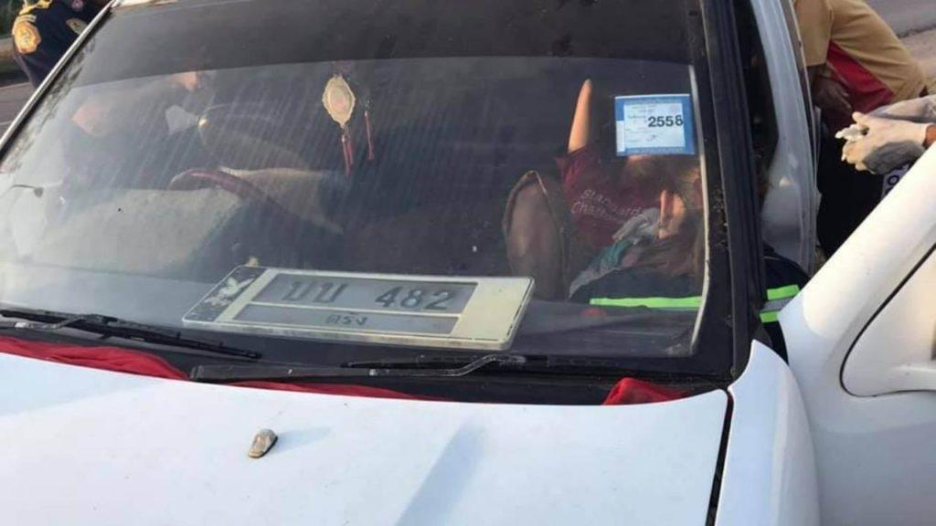 คลอดลูกบนรถ คอหวยยิ้มรับเลขทะเบียนรถ