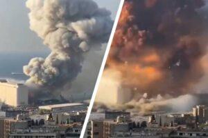 ระเบิด! ลั่นเมือง อิสราเอล-กลุ่มเฮซบอลเลาะห์ ปัดบึ้มกรุงเบรุต